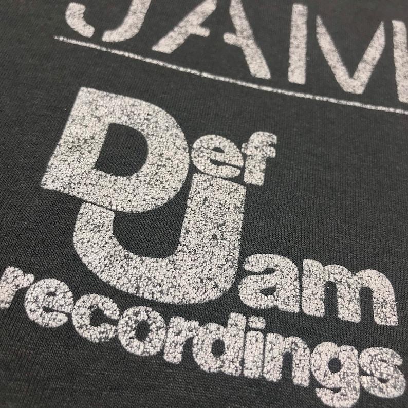 1980\u2019s Def Jam Promotional Shirt Columbia Records Lovely Distress /& Fades Rare Men\u2019s Large