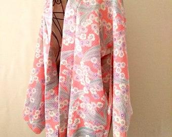 Kimono woman in pink cotton collection Naturalia