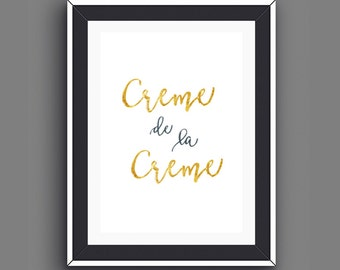Paris Bedroom Decor, Paris Decor, Foodie Quotes, Gifts for Foodies, Gold Foil Prints, Kitchen Wall Art, Foodie Prints, Instant Download