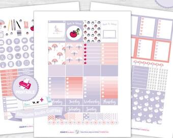 Back to school planner kit planner sticker kit weekly kit erin condren planner stickers planner printable stickers planner sticker kit