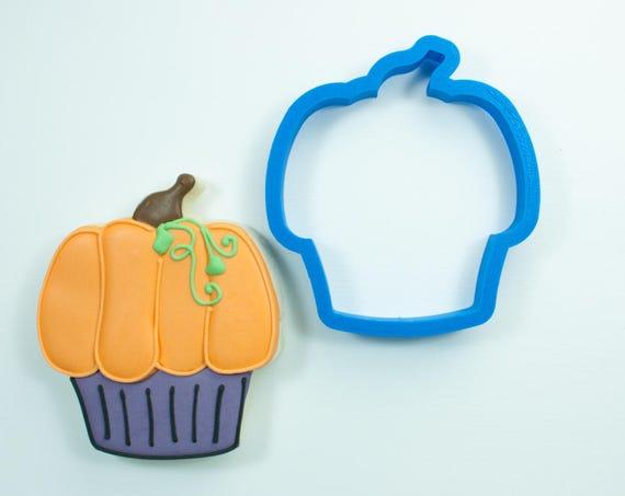 Pumpkin Cupcake Cookie Cutter