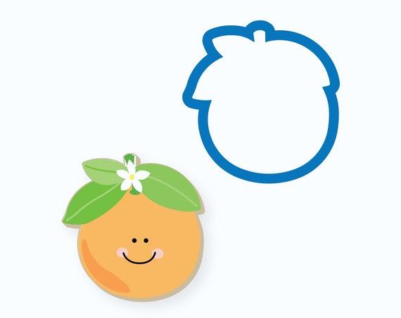 Orange Cookie Cutter | Fruit Cookie Cutters | Cutie Cookie Cutter | Orange Cutie | Baby Shower Cookie Cutter | Baby Cookie Cutter