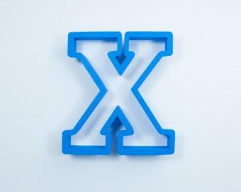 block letter x cookie cutter alphabet cookie cutters letter cookie cutters abc cookie cutters block letters alphabet cookie cutters