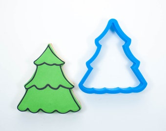 Xmas Tree Cookies Etsy