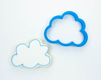 Cloud #3 Cookie Cutter CHOOSE YOUR OWN SIZE!