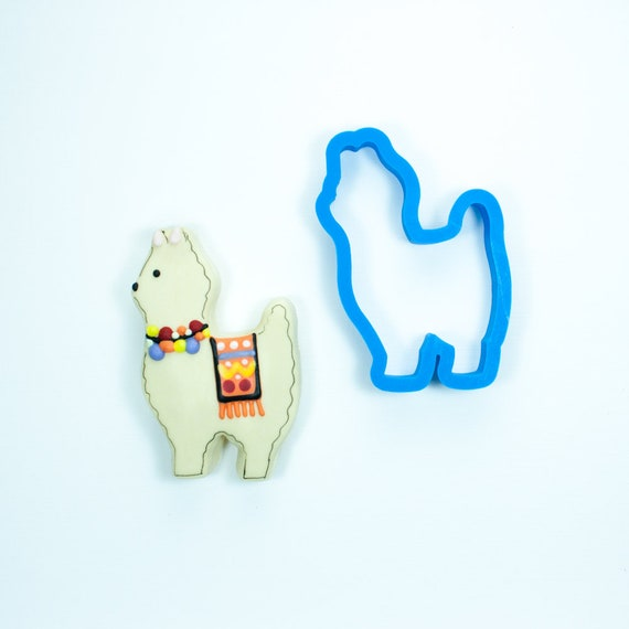 Chubby Llama Cookie Cutter | Llama Cookie Cutters | Farm Animal Cookie Cutters | Birthday Cookie Cutters | Animal Cookie Cutters