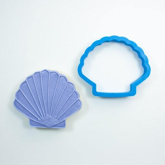 Fan Shell Cookie Cutter | Seashell Cookie Cutter | Shell Cookie Cutter | Beach Cookie Cutters |  Summer Cookie Cutters | Ocean Cookie Cutter