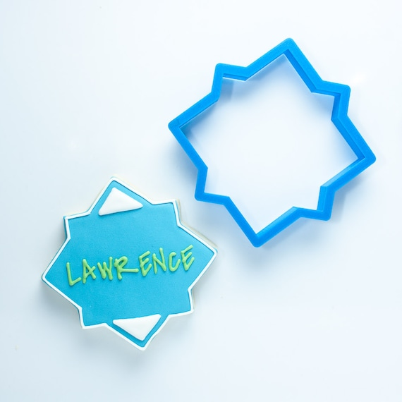 The Lawrence Plaque Cookie Cutter