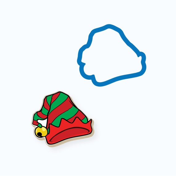 Whimsy Elf Hat Cookie Cutter