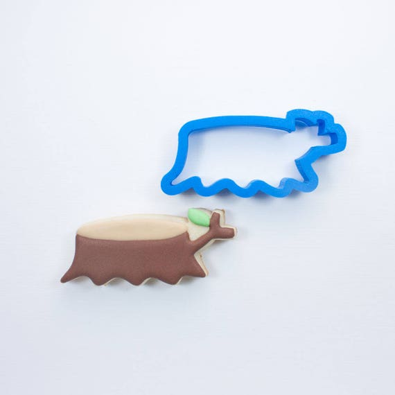 Woodland Tree Stump Cookie Cutter | Tree Cookie Cutter | Woodland Cookie Cutters | Custom Cookie Cutters | Unique Cookie Cutters | 3D Cookie