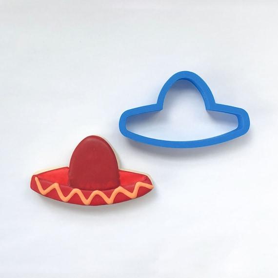 Sombrero Cookie Cutter | Mini Cookie Cutters | Unique Cookie Cutters | Cinco De Mayo Cookie Cutter