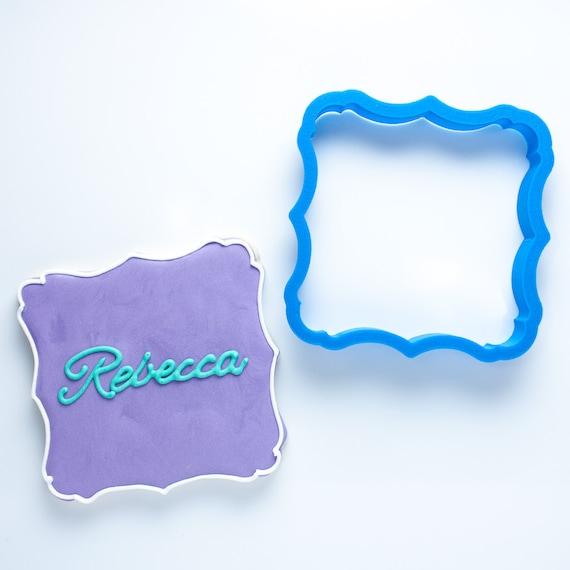 The Rebecca Plaque Cookie Cutter