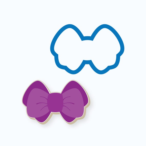 Chubby Double Bow Cookie Cutter
