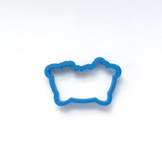 Bathtub with Bubbles Cookie Cutter | Unique Cookie Cutter | 3D Printed Cookie Cutter | Spa Cookie Cutter | Bubble Bath Cookie Cutter