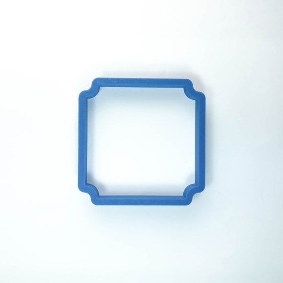 The Square Benjamin Plaque Cookie Cutter