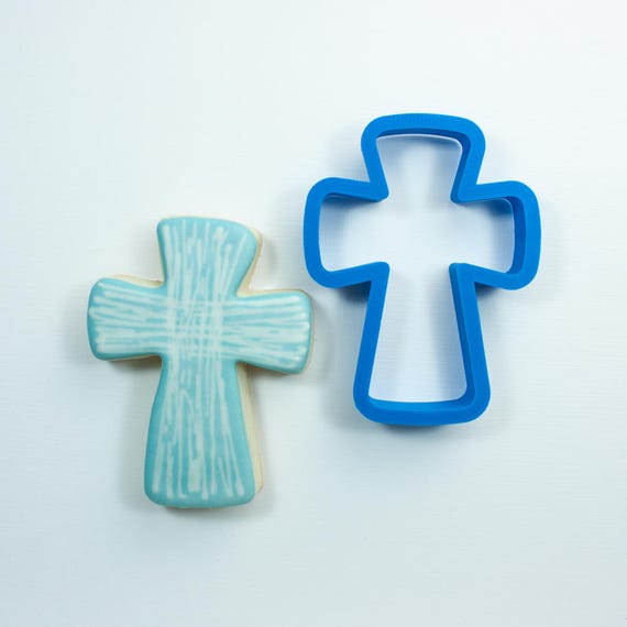 Modern Cross Cookie Cutter