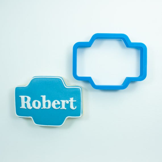The Robert Plaque Cookie Cutter