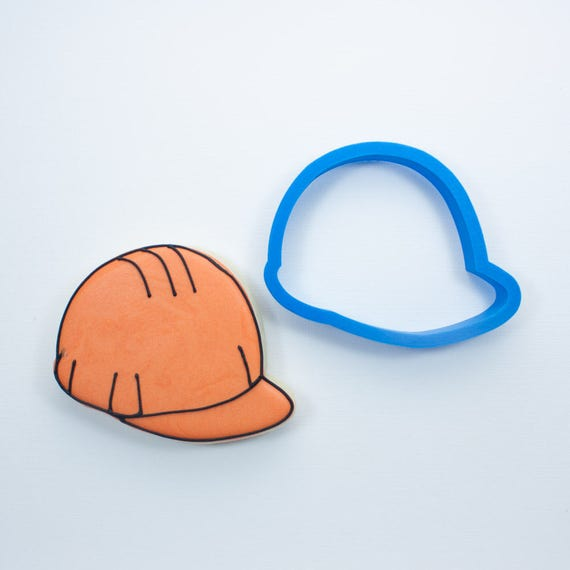 Construction Hat Cookie Cutter | Birthday Cookie Cutter | Hat Cookie Cutter | Mini Cookie Cutters | Unique Cookie Cutters