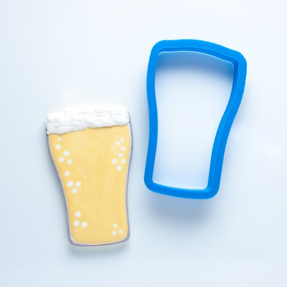 Beer Pint Glass Cookie Cutter