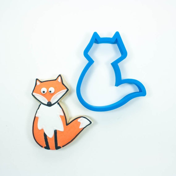 Fox Cookie Cutter | Animal Cookie Cutter | Woodland Cookie Cutters | Custom Cookie Cutters | Unique Cookie Cutters | 3D Cookie Cutters