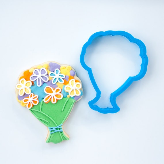 Wedding Flower Bouquet Cookie Cutter