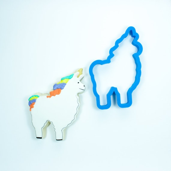 Llamacorn Cookie Cutter | Cookie Cutters | Animal Cookie Cutters | Birthday Cookie Cutters | Unicorn Cookie Cutters