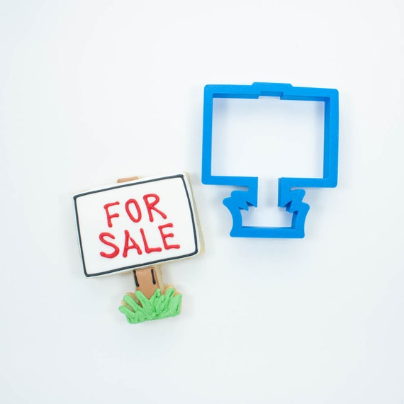 For Sale Sign Cookie Cutter