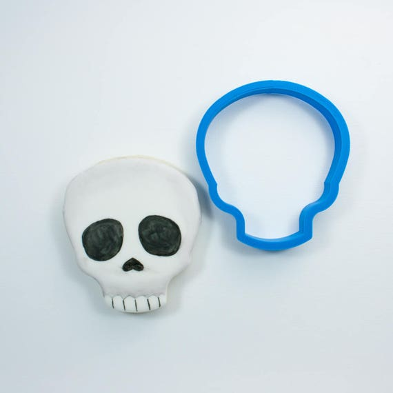 Skull Emoji Cookie Cutter | Skull Cookie Cutter | Halloween Cookie Cutter | Emoji Cookie Cutter | Emoji Cookie Cutters