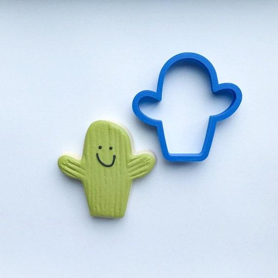 Chubby Cactus Cookie Cutter | Mini Chubby Cactus Cookie Cutter | Mini Cookie Cutters | Unique Cookie Cutters