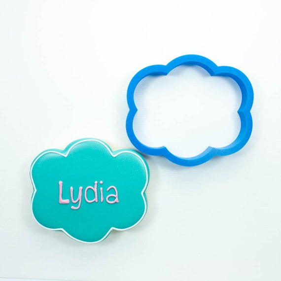 The Lydia Plaque Cookie Cutter