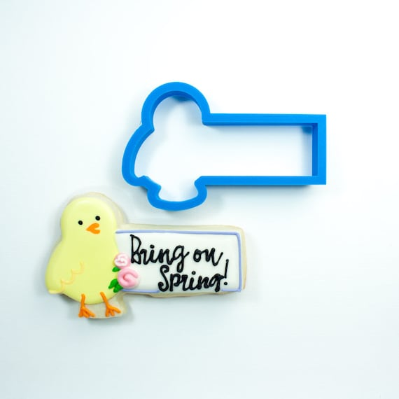 Chick Cookie Stick Cookie Cutter | Chick Cookie Cutter | Easter Cookie Cutter | Spring Cookie Cutter | Unique Cookie Cutters | Mini Cutter