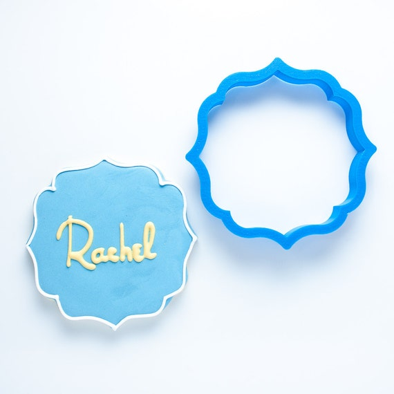 The Rachel Plaque Cookie Cutter
