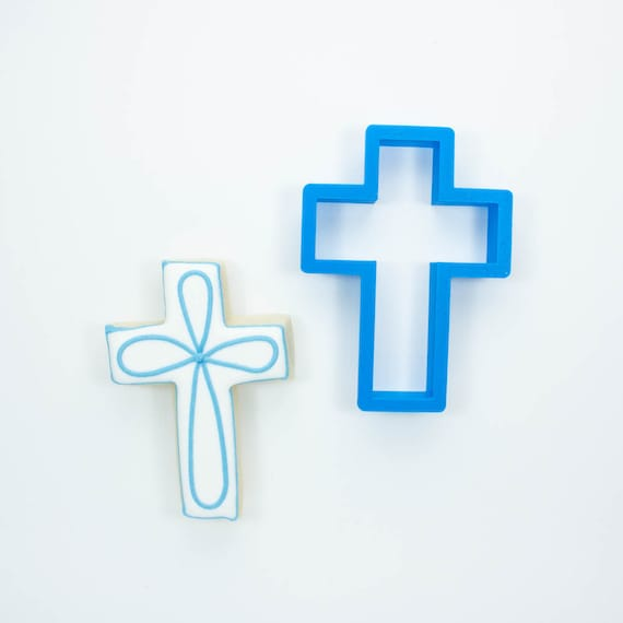 Simple Cross Cookie Cutter