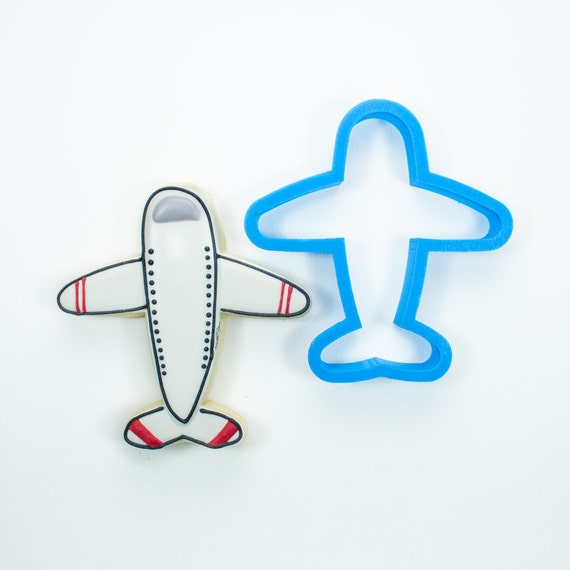 Airplane Cookie Cutter | Birthday Cookie Cutter | Plane Cookie Cutter | 3D Printed Cookie Cutters | Unique Cookie Cutters