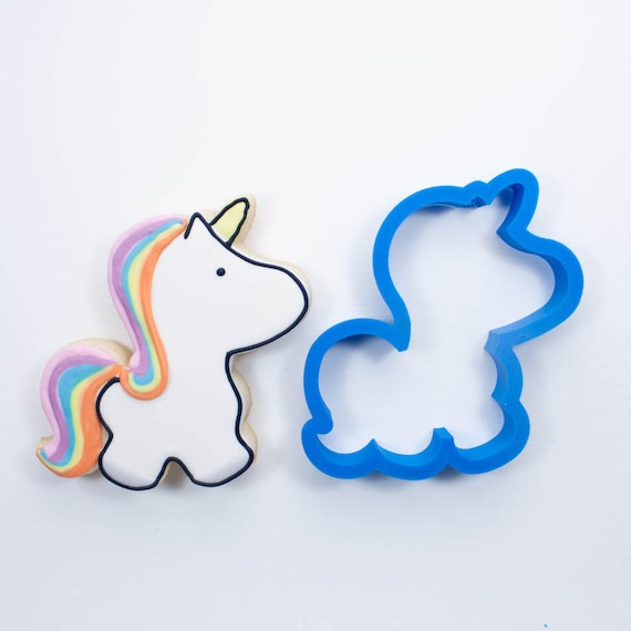 Unicorn Cookie Cutter | Mini Unicorn Cookie Cutter | Birthday Cookie Cutters | Cute Cookie Cutters | Unique Cookie Cutters