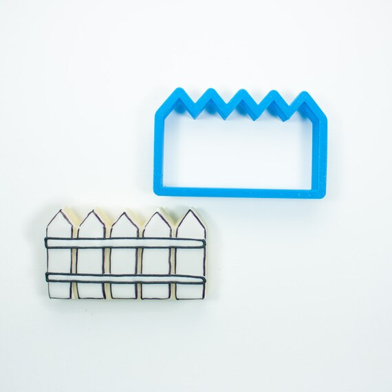 Picket Fence Cookie Cutter