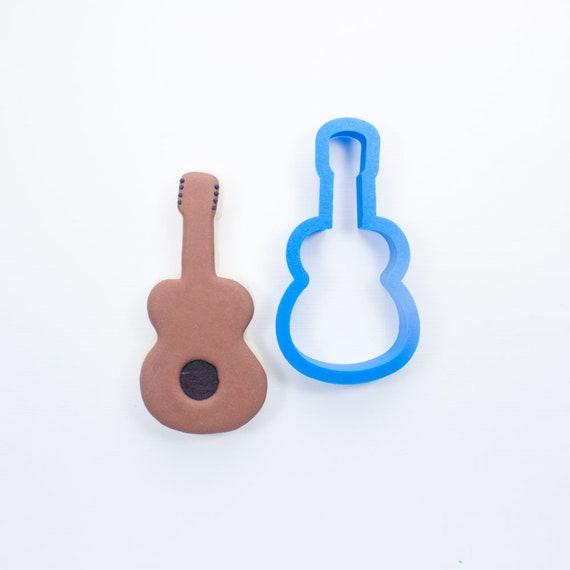Guitar Cookie Cutter | Music Cookie Cutter | Mini Cookie Cutter | Unique Cookie Cutter | 3D Cookie Cutter