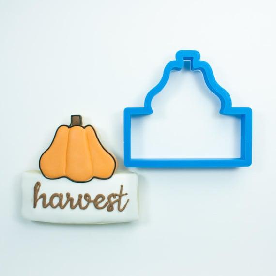 Chubby Pumpkin Plaque Cookie Cutter