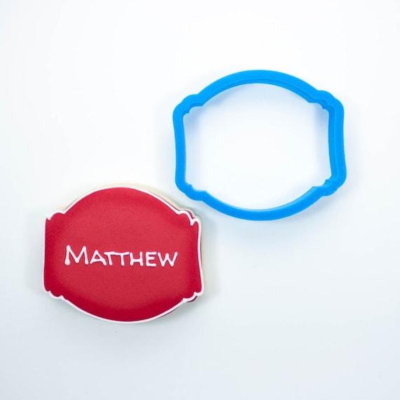 The Matthew Plaque Cookie Cutter