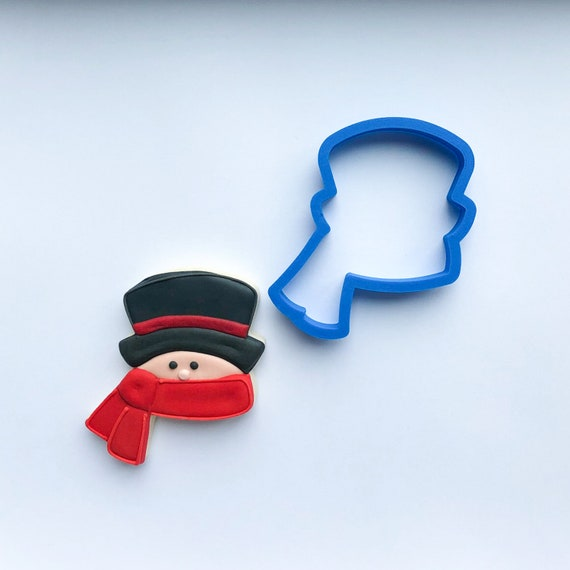 Head with Scarf Cookie Cutter