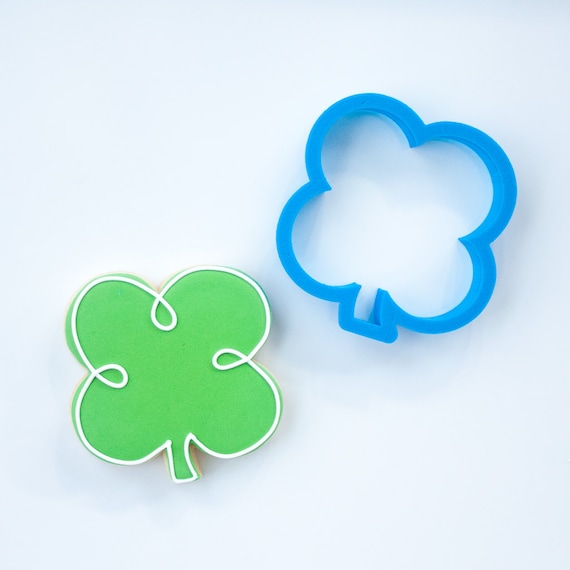 Four Leaf Clover Cookie Cutter | Shamrock Cookie Cutter | St Patrick's Day Cookie Cutter | St Pats Cookie Cutter | Clover Cookie Cutter