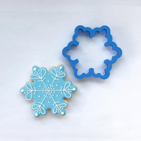 Three Point Snowflake Cookie Cutter | Fondant Cutter | Christmas Cookie Cutter | Winter Cookie Cutter | Snow Cookie Cutter | Snowflake