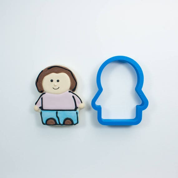 Person Cookie Cutter | People Cookie Cutter | Boy Cookie Cutter | Girl Cookie Cutter