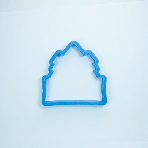 Chubby Tree Trio Plaque Cookie Cutter