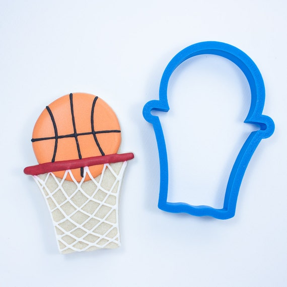 Basketball with Net Cookie Cutter