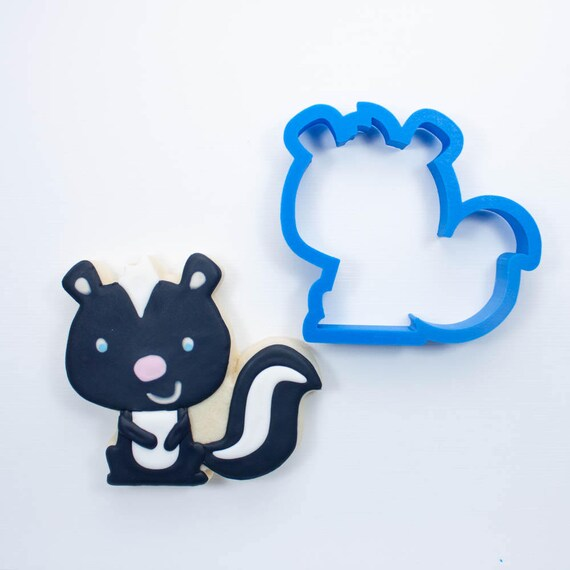 Woodland Skunk Cookie Cutter | Animal Cookie Cutter | Woodland Cookie Cutters | Custom Cookie Cutters | Unique Cookie Cutters