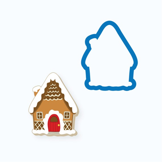 Tall Gingerbread House Cookie Cutter