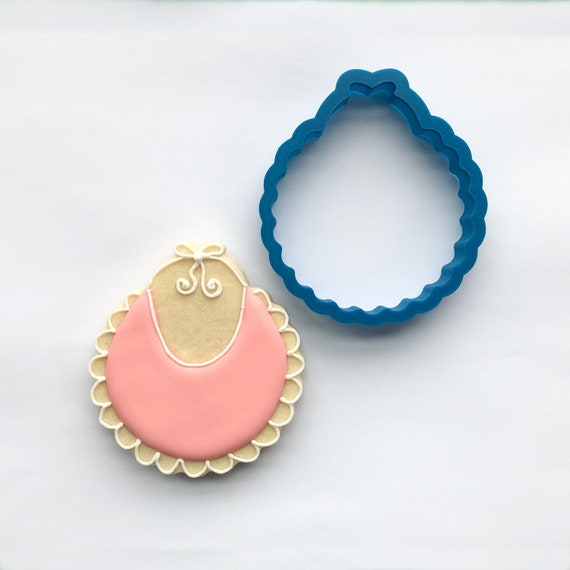 Baby Bib Cookie Cutter | Baby Shower Cookie Cutters | Baby Themed Cookie Cutters | Cookie Cutter Set | Unique Cookie Cutters