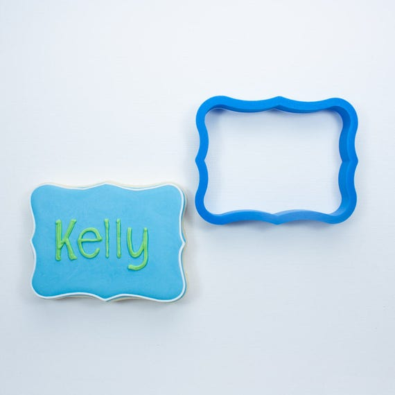The Kelly Plaque Cookie Cutter