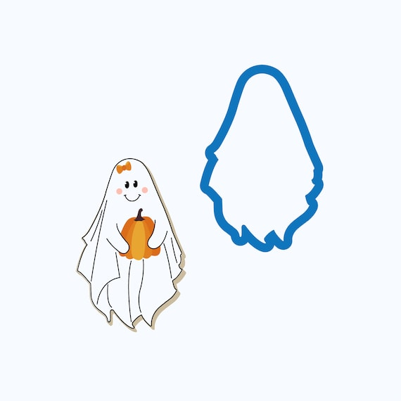 Sweet Ghost Cookie Cutter